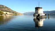 Historic Tugboat, Okanagan Lake, Penticton video