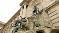 historical and imposing monument of Budapest: Matthias Fountain video
