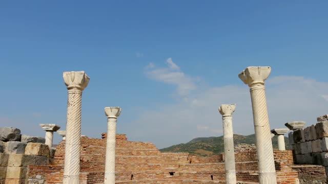 Historical Columns in St. Jean Church video