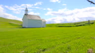 Historical Rural Church, Time Lapse video