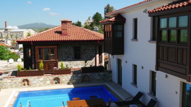 Historical White Houses, Sirince Village, izmir, Turkey video