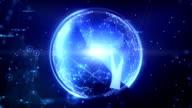 Hitek Sphere. Dark Blue video