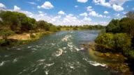 Hitting the Zambezi rapids video