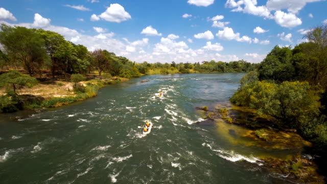 Hitting the Zambezi rapids video
