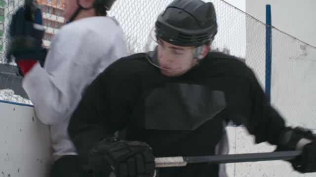Hockey Body Check video