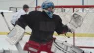 Hockey Goalie Fail video