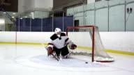 Hockey Player Breakaway video