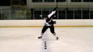 Hockey Player video