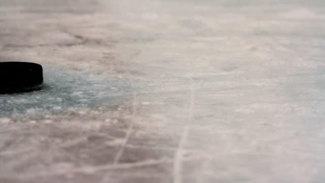 Hockey Puck Background video