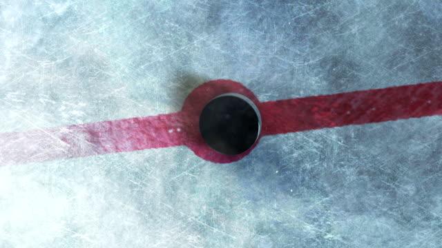 Hockey Puck Drop video