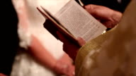 Holding a bible video