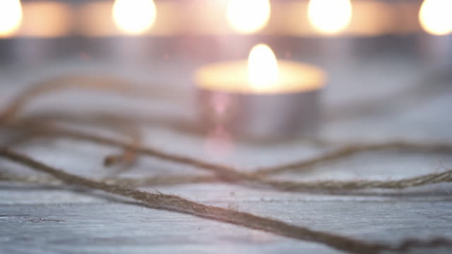 Holiday Candles video