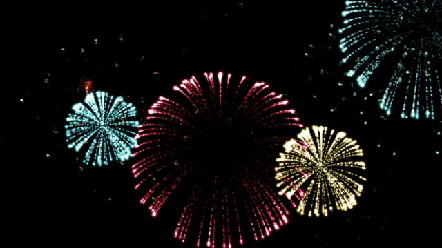 Holiday Color Fireworks video