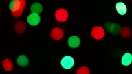 Holiday festive bokeh. Christmas and Valentine Abstract background video