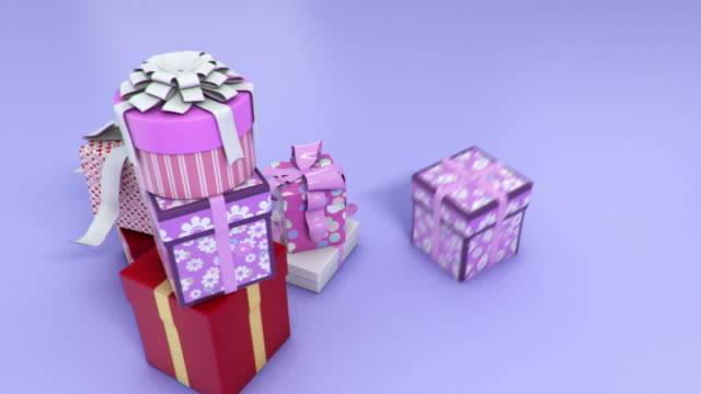 Holiday presents video