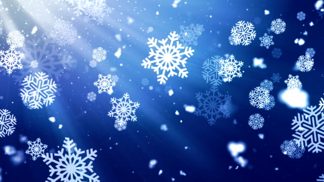 Holiday Snowflake Dark 1 Loopable Background video