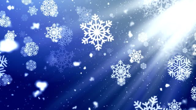 Holiday Snowflake Dark 2 Loopable Background video
