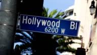 Hollywood Blvd Sign 04 video