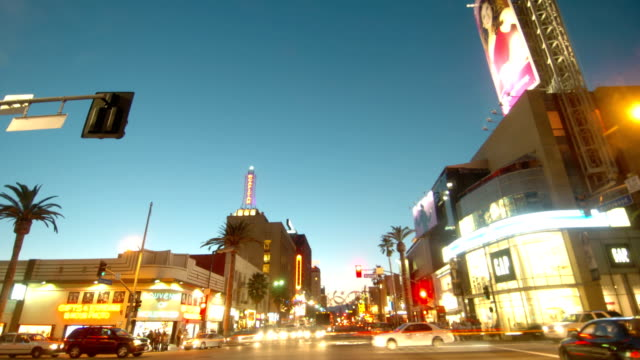 Hollywood Boulevard Sunset Drive video