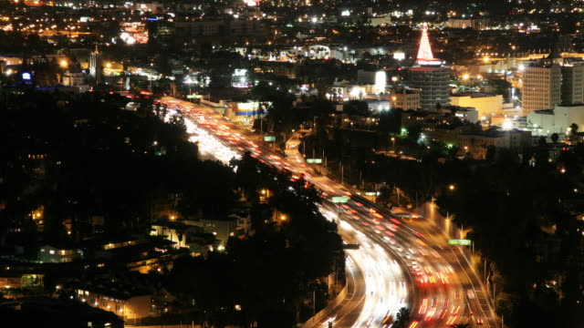Hollywood Time Lapse HD video