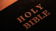 Holy Bible video