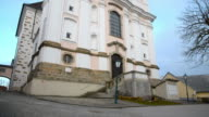 Holy christian poestlingberg church in Linz Upper Austria video