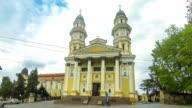 Holy Cross Greek Catholic Cathedral in Uzhhorod, Ukraine video
