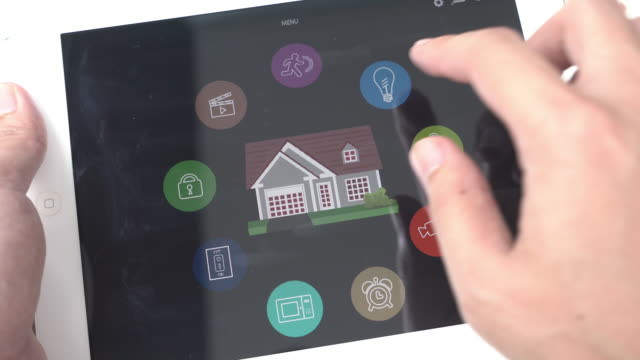Home Automation and smart home technology Control Light video