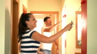 Home decoration, 4k. video