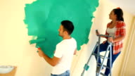 Home decoration. video