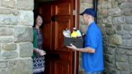 Home delivery of food / groceries video