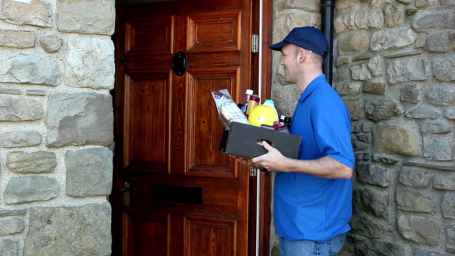 Home delivery of Groceries / Food - Outside video