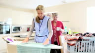 Home Help for the Elderly in the Kitchen video