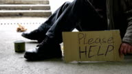HD DOLLY: Homeless Begging For Help video