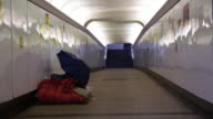 DS Homeless in the underpass video