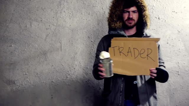 homeless trader video