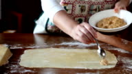 Homemade Agnolotti Preparation video