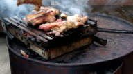 Homemade barbecue video