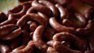 CU Homemade sausages video