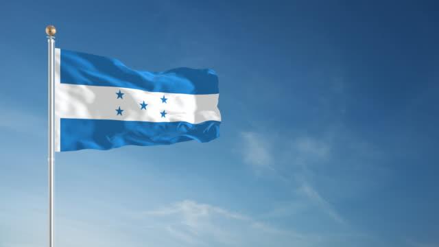 4K Honduras Flag - Loopable video