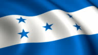 Honduras Flag Loopable video