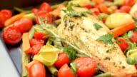 Honey Balsamic Chicken Breasts and Veggies video