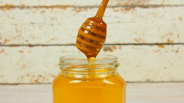 Honey Dipper Dripping Honey video
