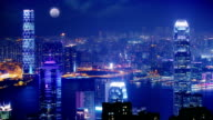 Hong Kong at Night. video