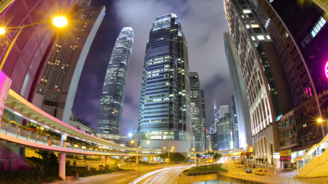 Hong Kong Business District video