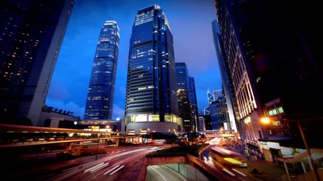 Hong Kong Business District video