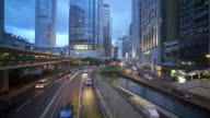 Hong Kong Central Business District video