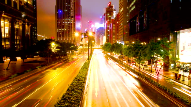 TIME LAPSE - Hong Kong Central Traffic video