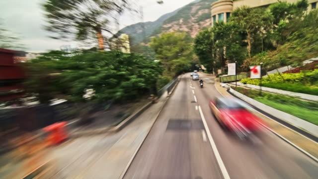Hong Kong City Driving Time Lapse Hills video