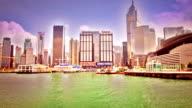 Hong Kong city video
